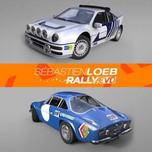 Sébastien Loeb Rally Evo, la Alpine A110 e la Ford Rs200 si aggiungono al parco auto