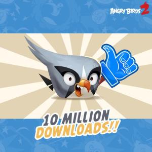 Angry Birds 2 vola a quota 10 milioni