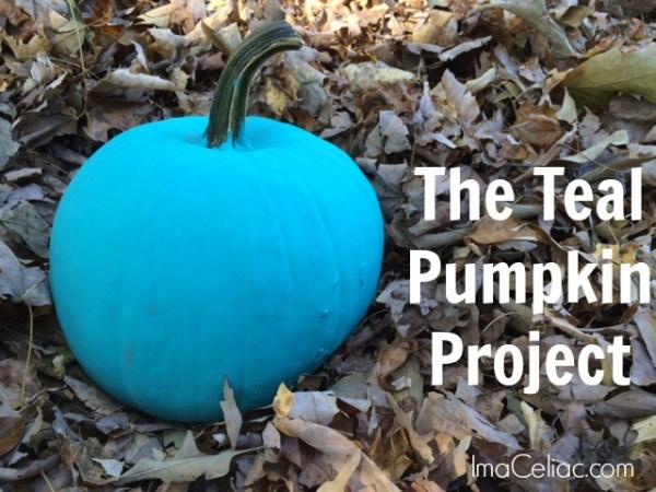 Teal Pumpkin | Imaceliac.com