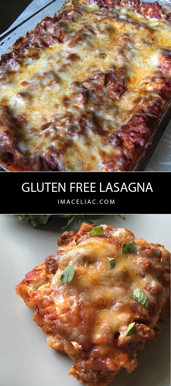 Simple Homemade Gluten Free Lasagna - I'm A Celiac