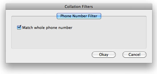 Remove contact duplicated phone numbers and email addresses from