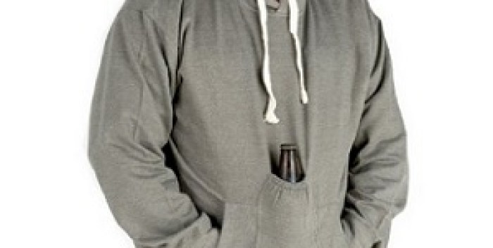 Beer Hoodie Sweatshirt with Beer Pouch