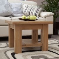 Kingston solid oak living room lounge furniture small ...