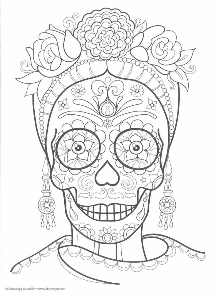 dia de los muertos coloring sheet Dia de - copy dia de los muertos mask coloring pages
