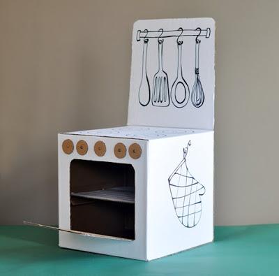 20 nuevas ideas para hacer cocinas de cart n para ni os y - Televisores para cocina ...