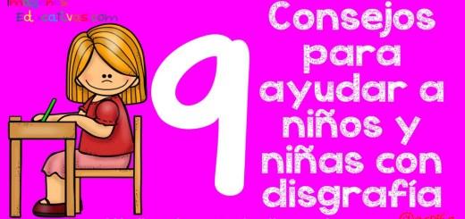 9 Consejos para ayudar a niños con disgrafía Portada