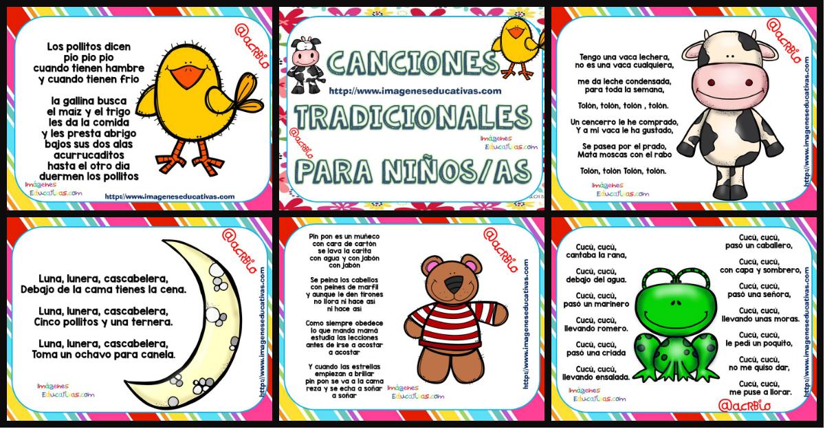 Canciones tradicionales y populares portada imagenes - Literas divertidas para ninos ...