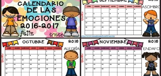 Calendario 2017 para trabajar las emociones- PORTADA