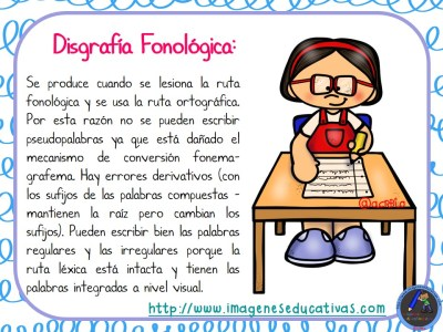 TIPOS DE DISGRAFÍA (6)