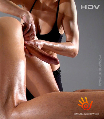 erotic female massage by a man
