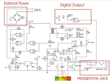 Geiger Counter Wiring Diagram Wiring Diagram