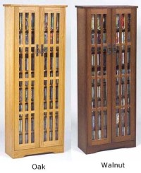 477 CD 222 DVD Glass Door Veneer Cabinet Rack - 3 color | eBay