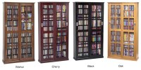 Sliding Glass Door 700 CD 336 DVD Storage Cabinet NEW | eBay