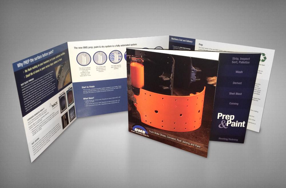 Image Shift - Brake Machinery Sales \u2013 Paint  Prep Sales Brochure