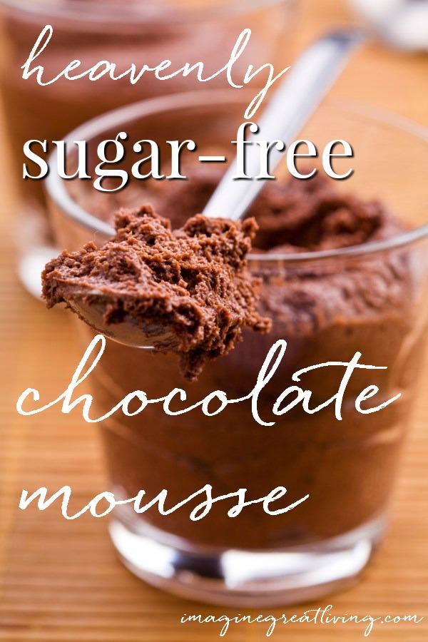 Heavenly Ricotta Chocolate Mousse (sugar free!)