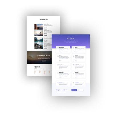 Tu Web Profesional al Instante con los Divi Layouts (Diseños Predefinidos)