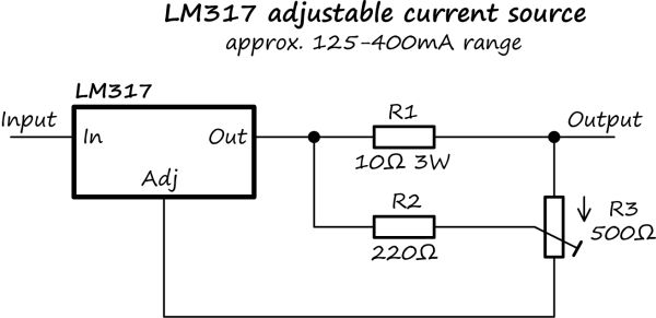 op amp current source circuit