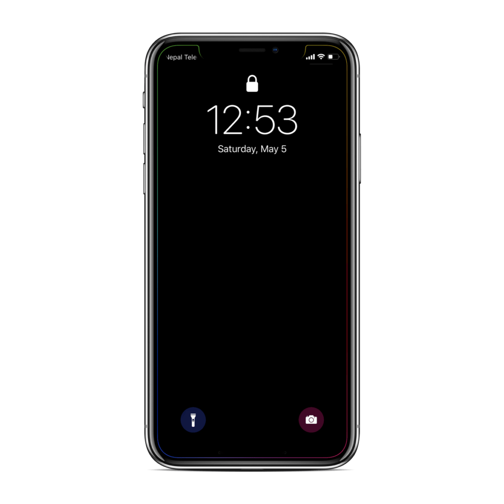 Dynamic Wallpaper For Iphone 7 Plus How To Customize Iphone X Notch And Dock Without Jailbreak