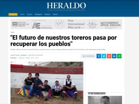 Noticia Heraldo Toreros