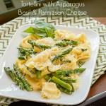 Tortellini w/Asparagus, Basil & Parmesan Cheese