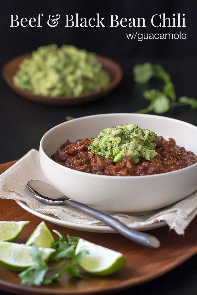 ... , chili for the big game give this Beef and Black Bean Chili a try