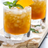 Orange Mint Julep