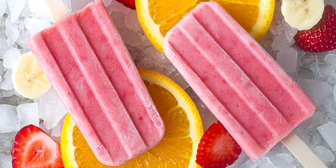 Fruit Smoothie Popsicles - I'm Bored, Let's Go...