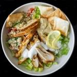 Chicken Shawarma Salad Bowl