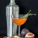 Whiskey Fig Martini