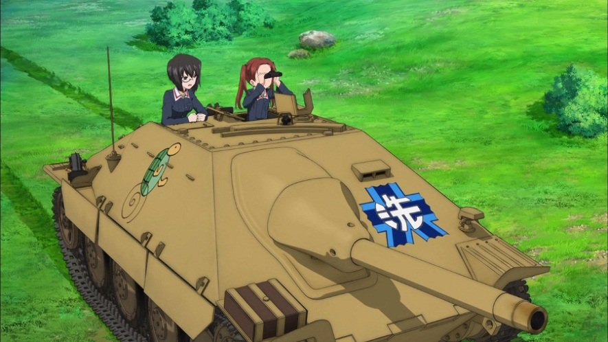 Car Chase Wallpaper Imcdb Org Bmm Sd Kfz 138 2 Hetzer In Quot Girls Und Panzer
