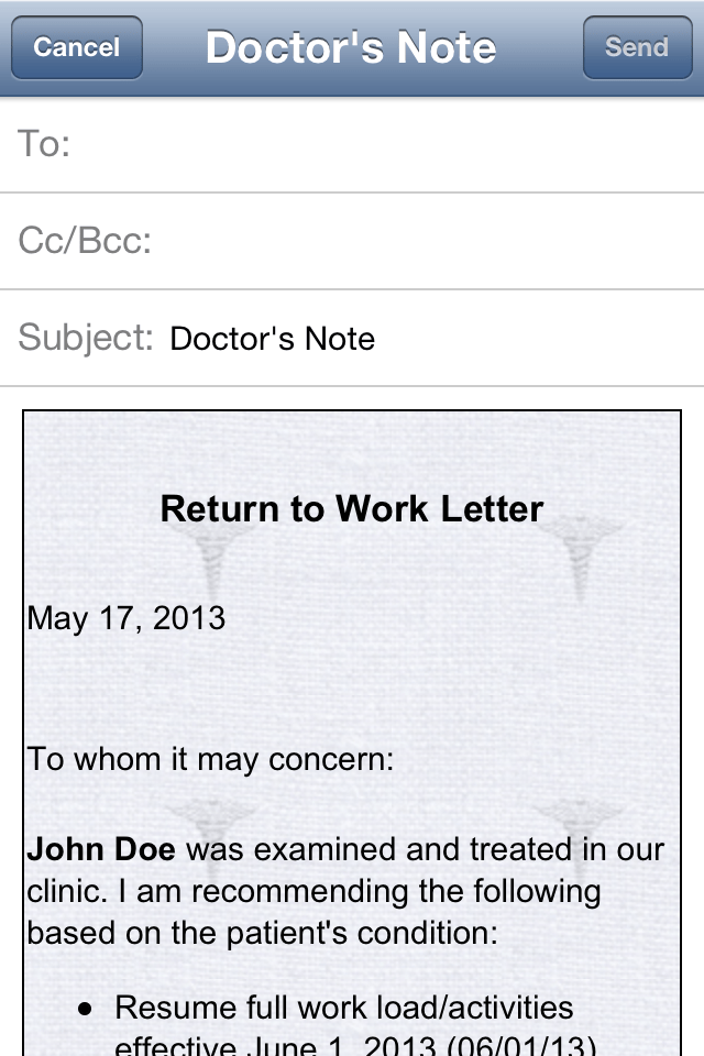 Inside Doctor's Note Iphone And Ipad Medical App Review