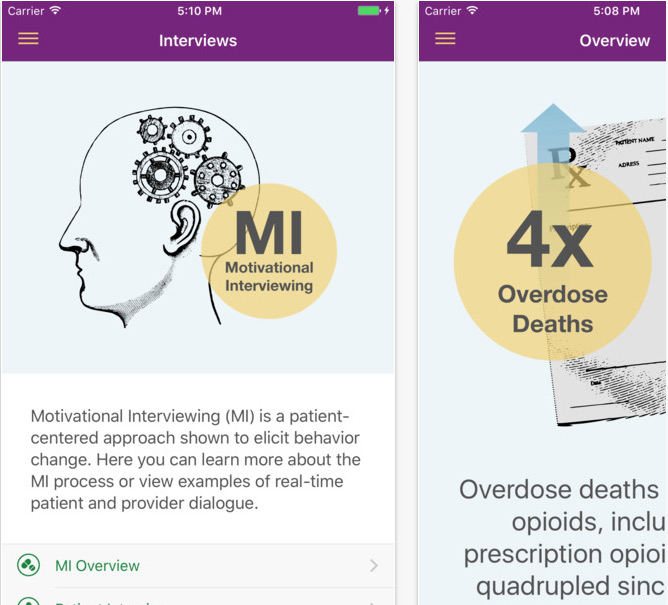 Review of the new CDC Opioid Prescribing Guidelines app, critical
