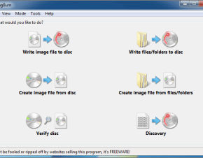 screenshot ezmodepicker ImgBurn, Free CD/DVD Burning and Backup Tool