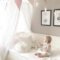 Canopy Bed Netting Mosquito Bedding Net Baby Kids Reading ...