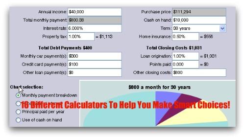 Budget and Mortgage Calculators