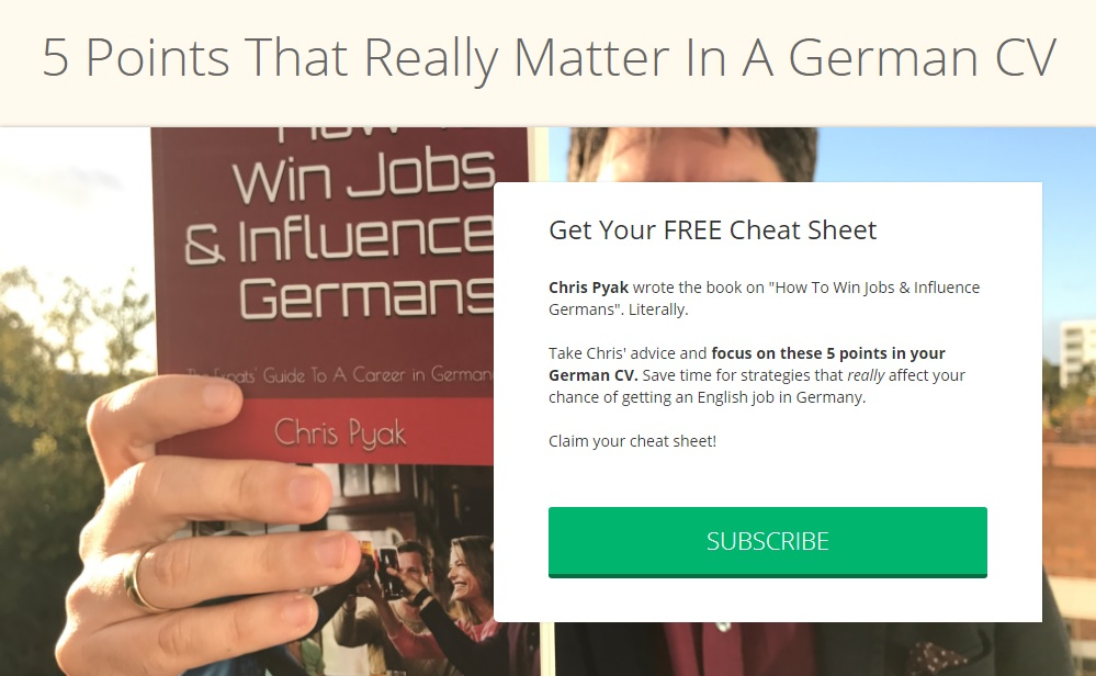 The Perfect CV in Germany - Immigrant Spirit GmbH