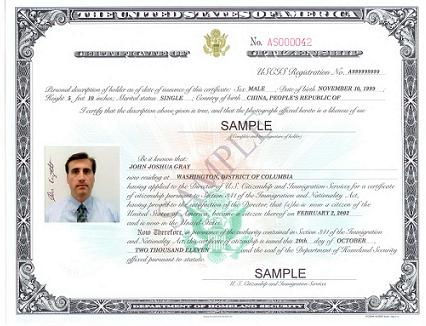 Citizenship certificate Immigration Document Samples Pinterest - lost passport form