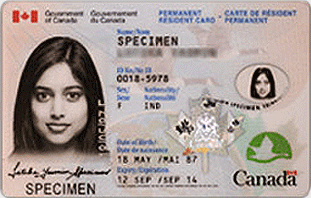 Permanent Resident Card Renewal Application To Get Renew Or Replace A Permanent Resident Permanent Resident Card For Canada Form Imm 5444e