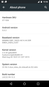 Enable Developer options USB debugging mode in Moto E and Moto G