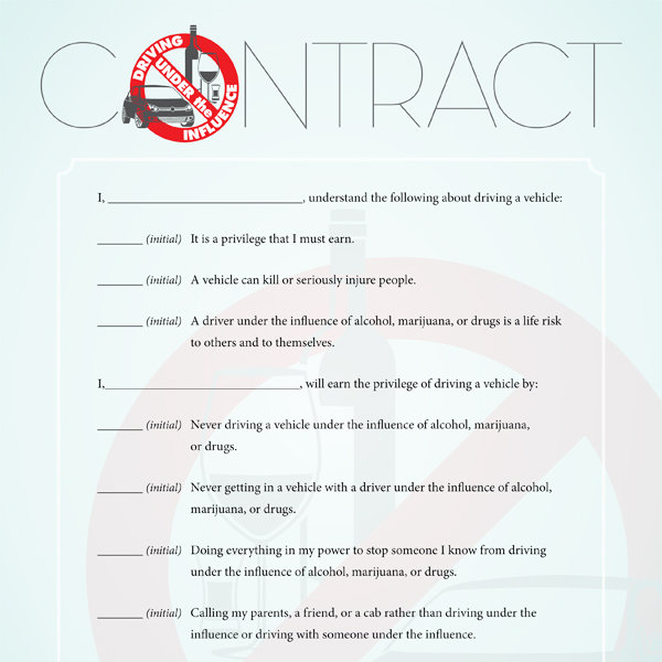 Free Printable Contracts for Kids and Teenagers! - iMOM