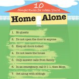 Home Alone Rules For Kids