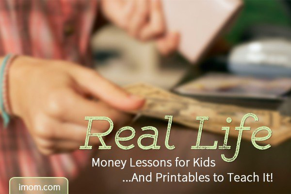 A Real Life Money Lesson for Kids And Printables to Teach It! - iMom