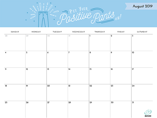 2019 summer calendar printable