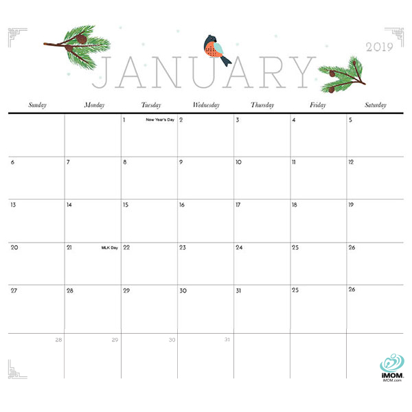 Printable Calendars Archives - iMom