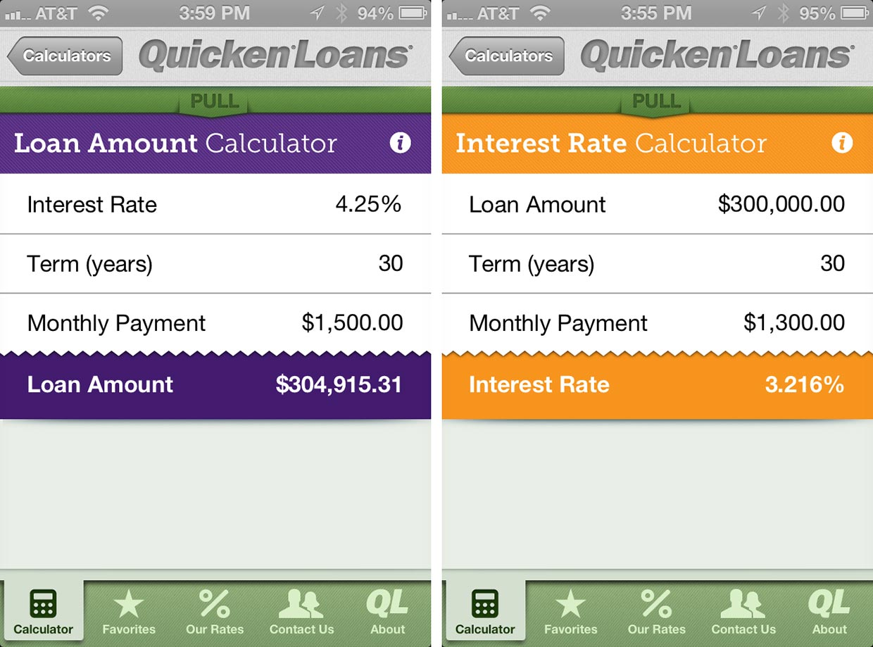 calculator for mortgage loans
