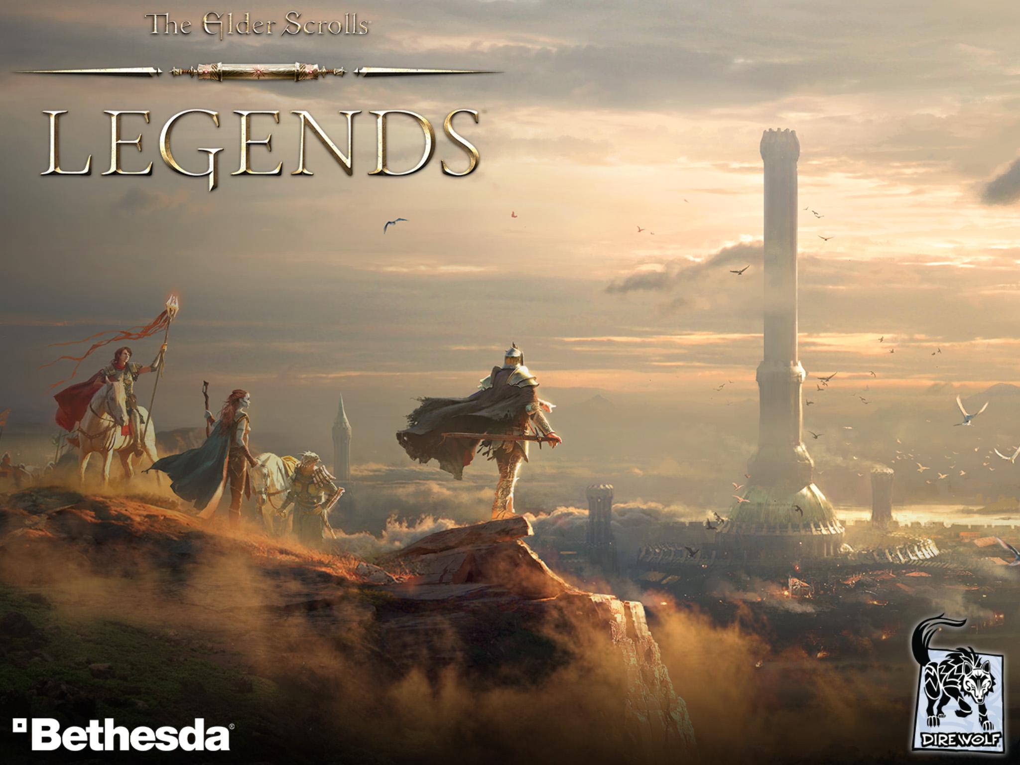 Skyrim Iphone X Wallpaper The Elder Scrolls Legends Review A Breath Of Fresh Air