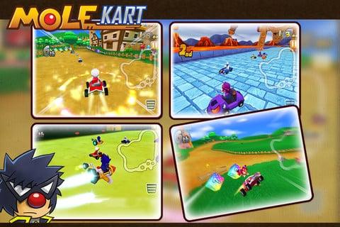 Mario Kart Mole