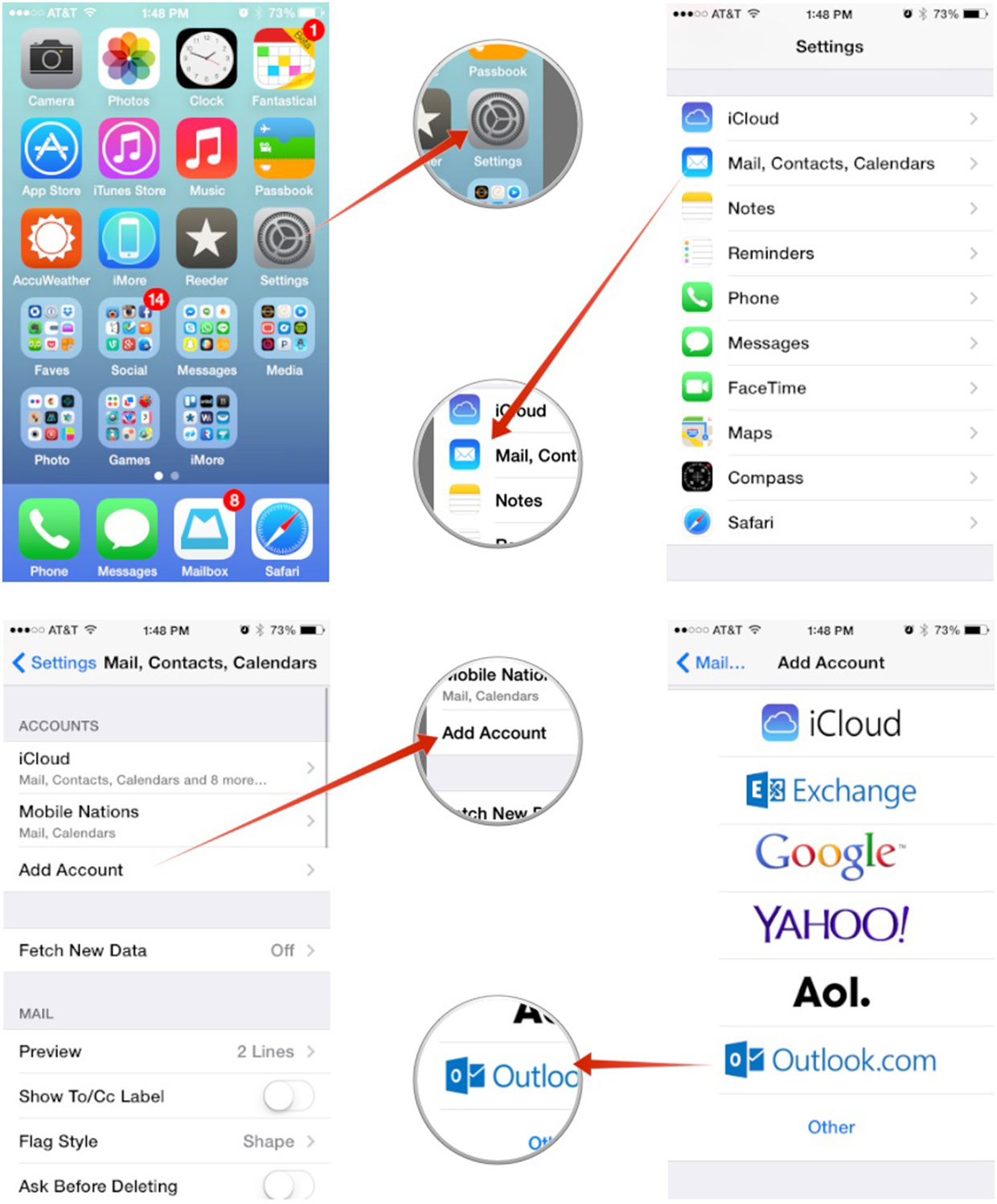 Public Calendars Exchange Iphone Sync Exchange Folders With Mobiles Iphone Android How To Set Up Microsoft Outlook Mail Calendar Contacts