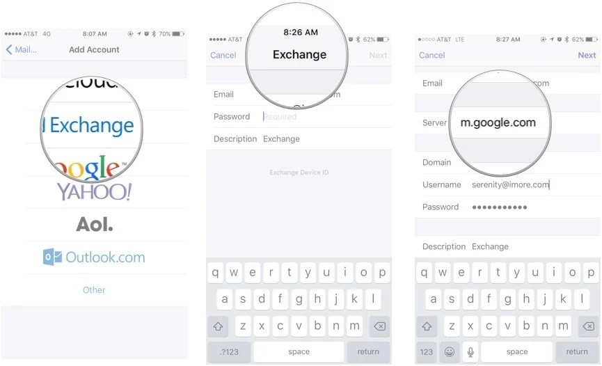 Set Up Calendar For Iphone Step By Step Tips To Set Up Your Kids Iphone Common How To Set Up Exchange Accounts On Your Iphone Ipad Or