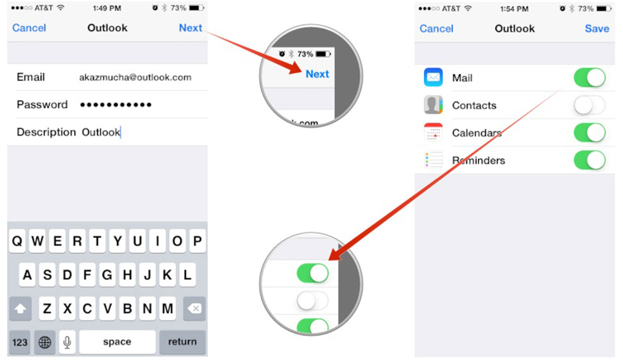 How To Sync Google Calendar With The Ipad Ipad Insight How To Set Up Microsoft Outlook Mail Calendar Contacts
